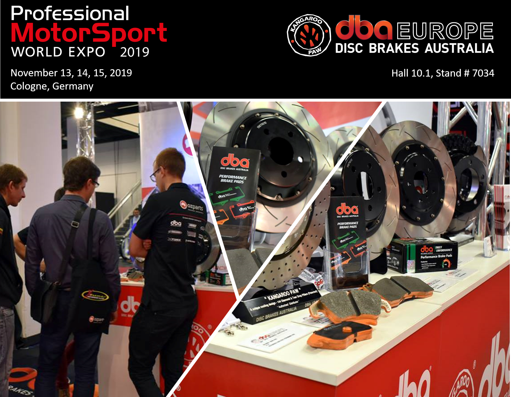 DBA at Professional MotorSport World Expo 2019