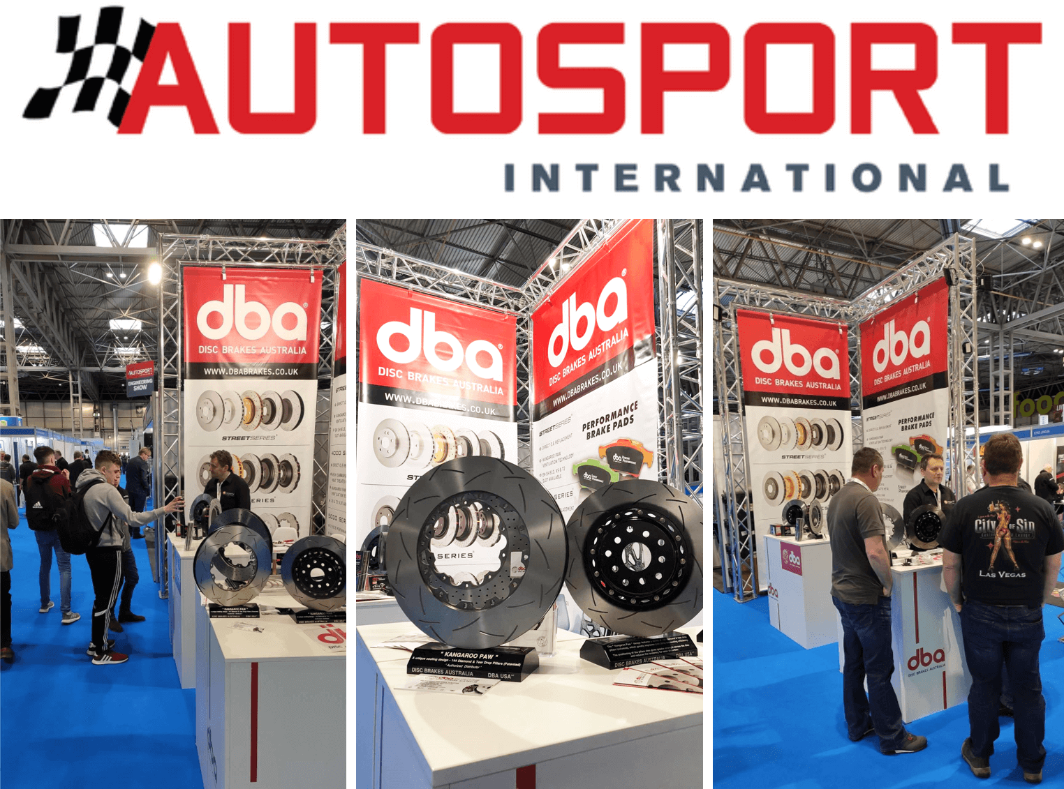 DBA Disc Brakes at Autosport International 2020, Birmingham UK