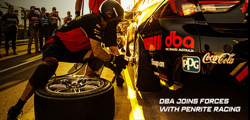 DBA joins forces with Penrite Racing